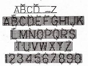 Technical Lettering