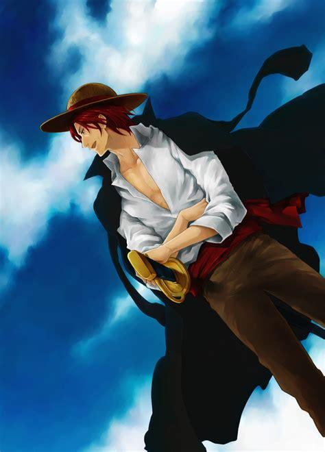 shanks coat zerochan anime image board