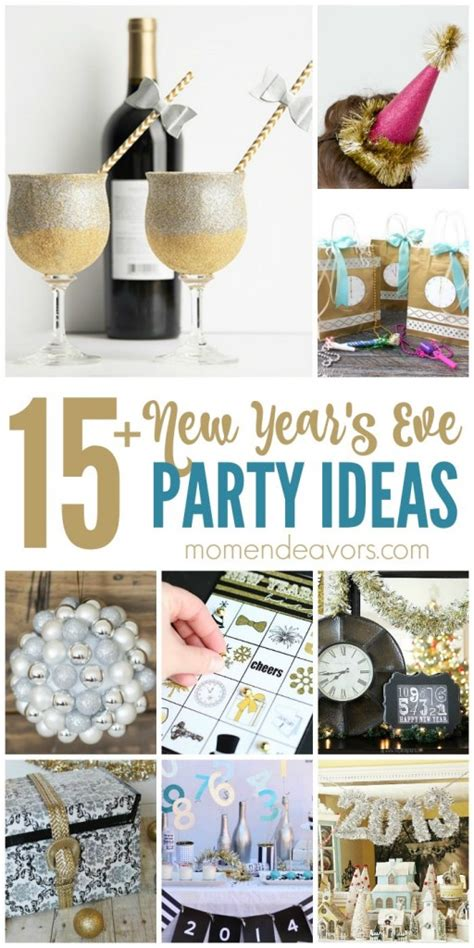 diy  years eve party ideas