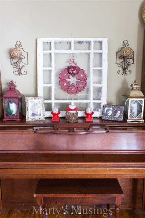 Thrifty Valentine's Day Decor  Marty's Musings