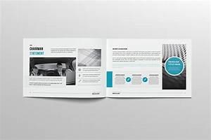 A4 Landscape Company Profile 16 Pages On Behance