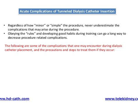 Tunneled Catheter Insertion