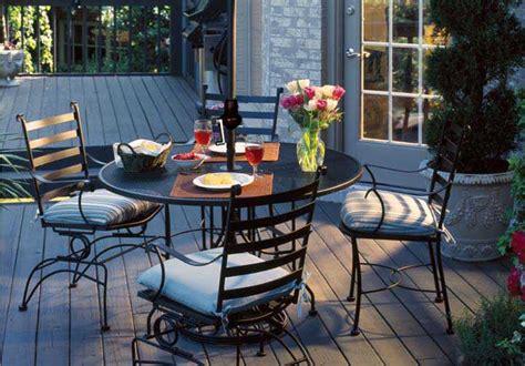 meadowcraft patio furniture covers meadowcraft wrought iron 48 regular mesh dining