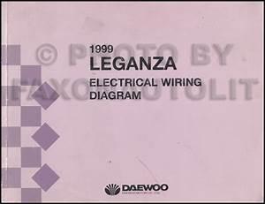 Daewoo Leganza Wiring Diagram