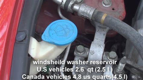 windsheild washer fluid honda civic