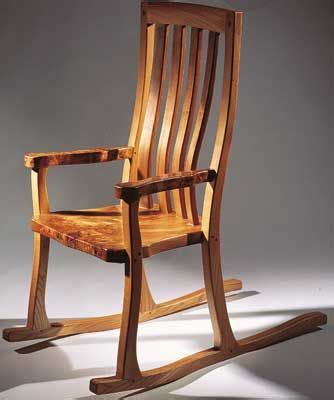 rocking chair crafts furniture woodworking shop