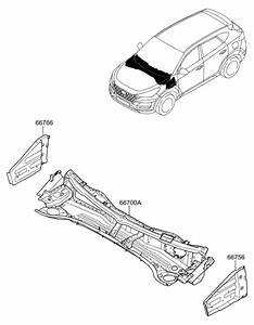2019 Hyundai Tucson Cowl Panel