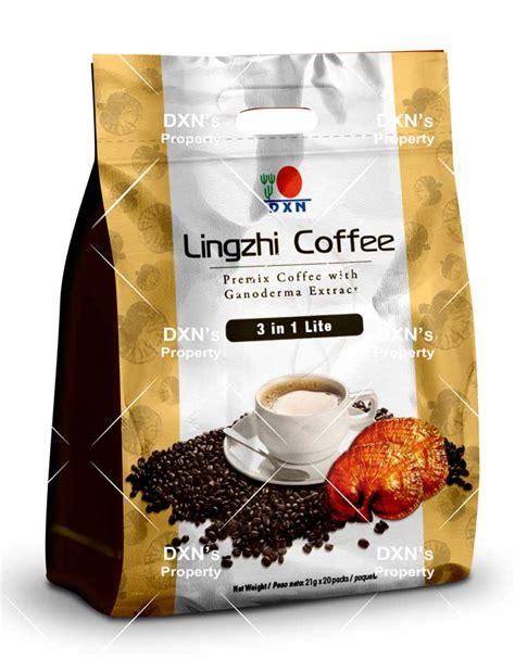 Lingzhi coffee 3 in 1: DXN USA Official Site