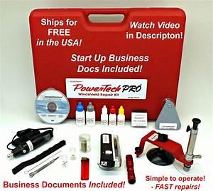 Powertech Pro Windshield Repair Kit  U2013 Autoglass Tools Online