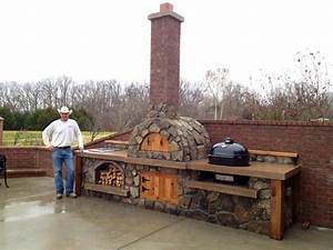 pizza ovens outdoor plans pizza oven with primo xl With outdoor kitchen pizza oven design