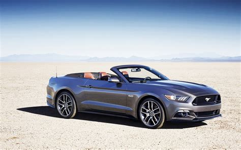 2015 Ford Mustang Convertible Wallpaper Hd Car