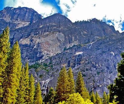 Yosemite Park National Falls Staircase California Waterfalls