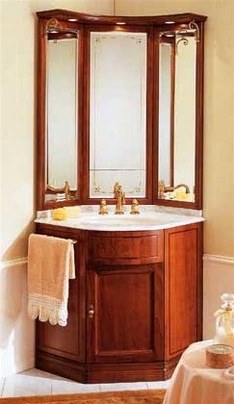 Corner Vanities For Small Bathrooms  Bathroom Corner