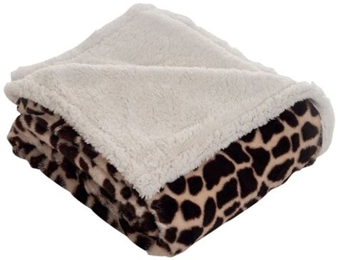 Lavish Home Throw Blanket, Fleece/sherpa, Giraffe Mink Blankets King Size Electric Uk Wool Made In Usa Crochet Toddler Shark Blanket Pattern Little Giraffe Luxe New Dot Baby Is There Such Thing As A Cooling Lion Brand Knitting Dreamland Sleepwell Single