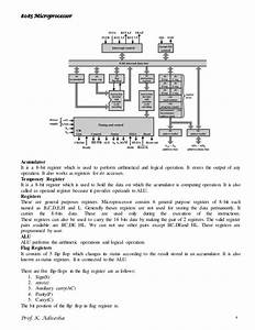 8085 Microprocessor Notes