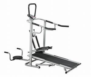 China Factory Multifunction Treadmill Sale    Manual Jogger
