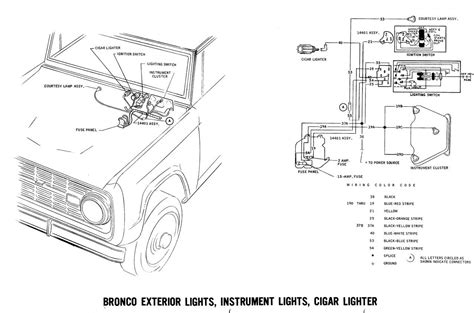 Bronco Wiring Diagrams Ford Truck Fanatics