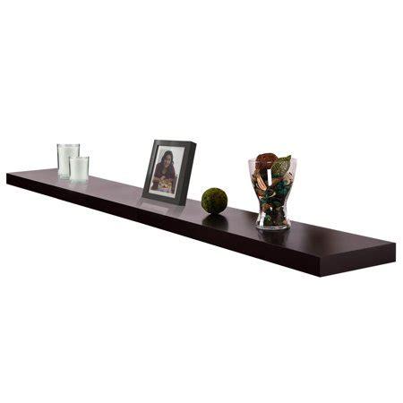 6 foot floating shelf new 4ft venice black floating wall shelf 48 quot x9 quot x 2 quot kit