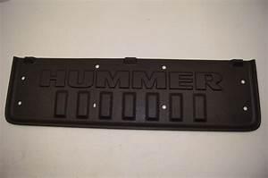 Hummer H3t Bedliner Front Black Plastic Panel