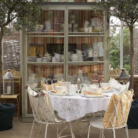 shabby chic conservatory furniture calm yellow conservatory housetohome co uk