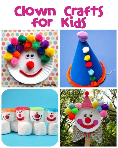 clown activities for preschoolers clown crafts printables amp recipes family crafts 373