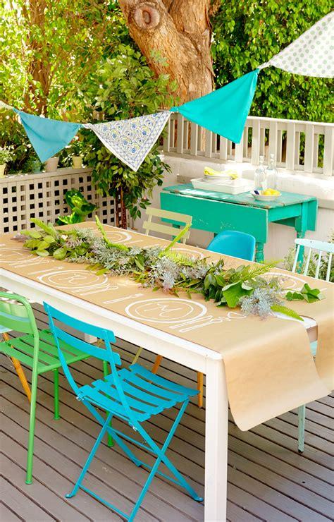 Backyard Decor by Backyard Ideas And Decor Summer Entertaining Ideas