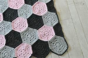 Made Com Tapis : tuto tapis motif hexagone au crochet lifestyle mode d co maman diy ~ Teatrodelosmanantiales.com Idées de Décoration