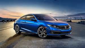Honda Civic Sedan And Coupe Gets Updated For 2019 Model
