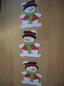 Und das beste am winter? Fensterbild-Kette-Tonkarton-basteln-Deko-Weihnachten ...