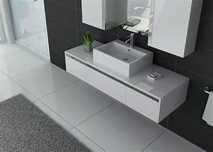 Meuble De Salle De Bain Solde : meuble de salle de bain 140 cm simple vasque meuble de ~ Teatrodelosmanantiales.com Idées de Décoration