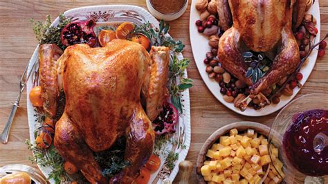 thanksgiving turkey recipes martha stewart