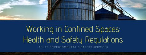 working  confined spaces health  safety regulations