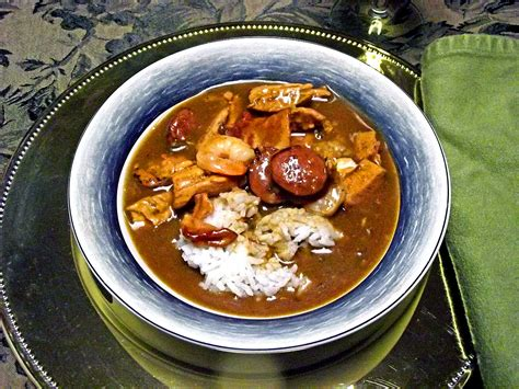 cuisine of louisiana gumbo