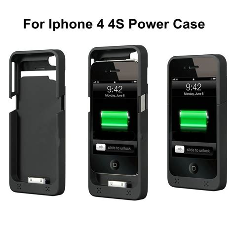 how to charge iphone 4 without charger 1900mah external battery charger for iphone 4 4s portable