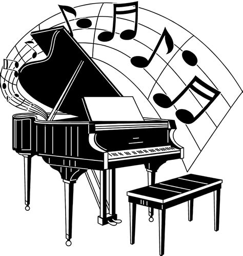 Musical Music Notes Clip Art And Image 2 In 2019 Music