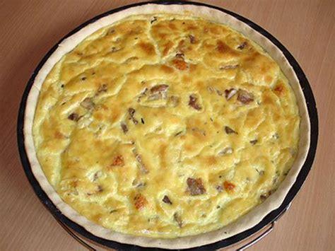 recette de cuisine quiche au poulet recettes de tartes salées et poulet