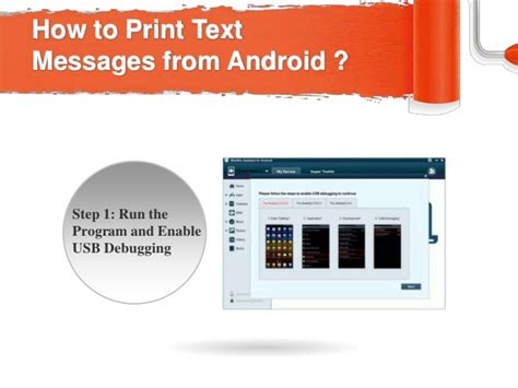 print text messages android print text messages from android