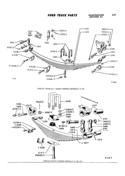 53 Ford F100 Wiring by 56 Ford F100 Parts Wiring Diagram And Fuse Box
