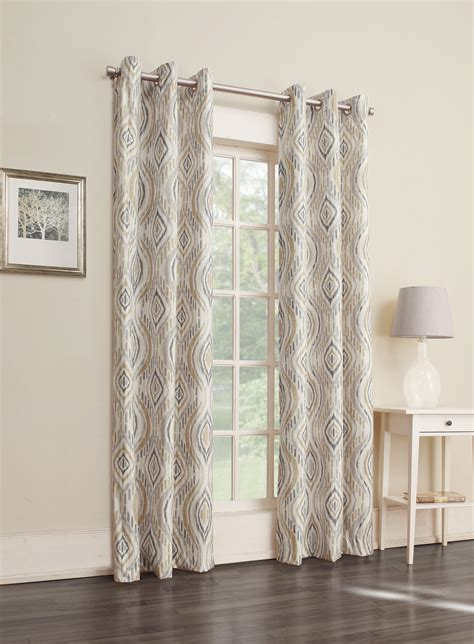 Kmart Curtains Smith by Smith Ikat Thermal Foamback Window Panel Shop