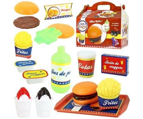 jouet dinette boite hamburger box menu enfant fastfood gar 231 on 5182