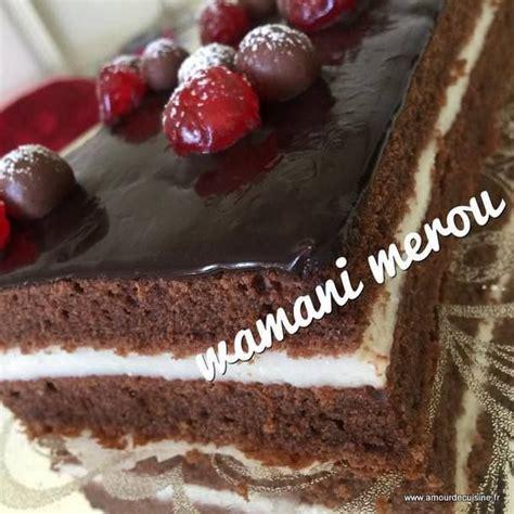 gateau amour de cuisine gateau moelleux au chocolat a la creme amour de cuisine