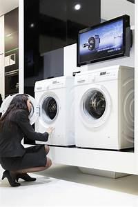 Zwei Waschmaschinen An Einen Abfluss : effizienz hat einen neuen namen siemens pr sentiert auf ~ Michelbontemps.com Haus und Dekorationen