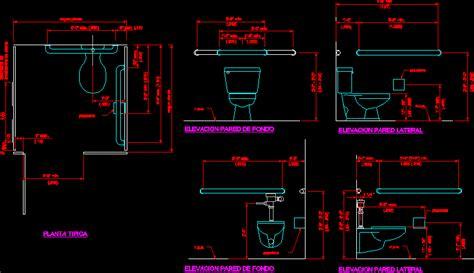 handrail  toilets  autocad  cad