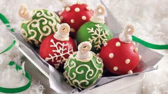 cake ball ornaments recipe from betty crocker