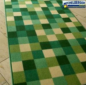 Teppich Läufer Grün : teppich l ufer patchwork gr n michelberger ihr trendy teppich shop ~ Whattoseeinmadrid.com Haus und Dekorationen