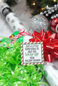 santa gift tags 25 cheap gifts for christmas under 5 crazy little projects
