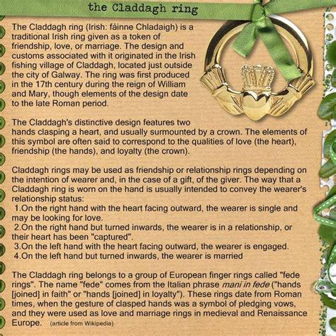 meaning of claddagh ring doherty clan irlande celtique grande bretagne