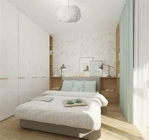 Kleines Schlafzimmer Gestalten : kleine r ume farblich gestalten wandfarbe und m bel ~ A.2002-acura-tl-radio.info Haus und Dekorationen