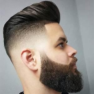 Dégradé Barbe Homme : coiffure homme 2017 avec barbe ~ Melissatoandfro.com Idées de Décoration