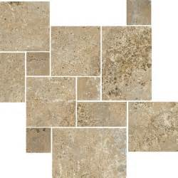 antalya noce tumbled travertine wall and floor tile other metro by the tile shop
